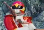 Red Ranger reacts