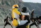 Yellow Ranger lands in Nobody's arms