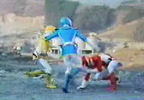 Blue and Yellow join Red Ranger