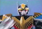 Megazord with Owl Hammer