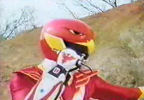 Red Ranger summons Battlizer