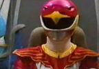 Red Ranger summons Phoenix Blade