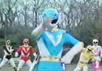 Blue Ranger summons Battlizer