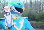 Blue Ranger's Battlizer
