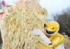 Yellow Ranger tackles Ramenator