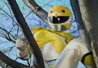 Yellow Ranger takes a break