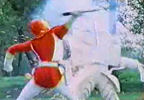 Red Ranger vs. Papyria