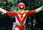 Red Ranger's pose