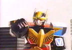 Megazord charges