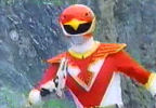 Red Ranger distracted