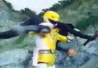 Yellow Ranger spins Nobody
