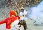 Red Ranger vs. Zin