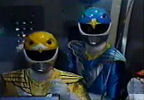 Blue Ranger's awe