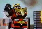 Megazord gets flamed