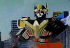 Megazord fights back
