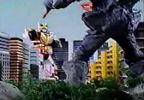 Megazord vs. Brimstone