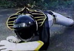 Black Ranger down