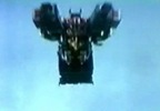 flying Megazord (not shown: US Stingers)
